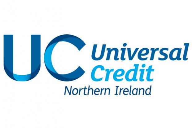 Universal Credit application screen